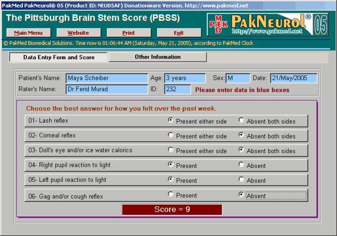 PakMed PakNeurol 05 Screenshot 1