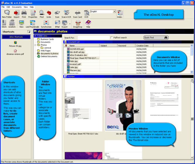 edocXL Screenshot