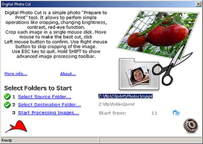 Digital Photo Cut Screenshot 1