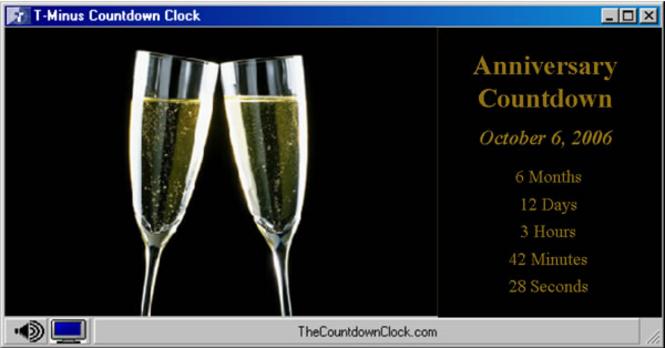 T-Minus Anniversary Countdown Screenshot
