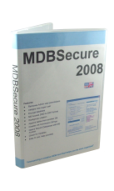 MDBSecure 2008 - 2 Single User Licenses Screenshot