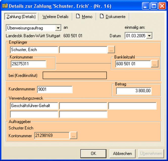 ezDTA - Datenträgeraustausch mit der Bank Screenshot