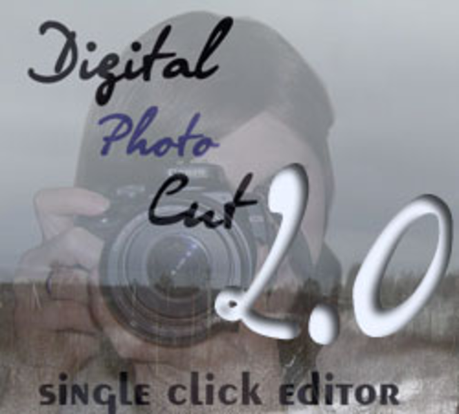 Digital Photo Cut Tool Screenshot 1