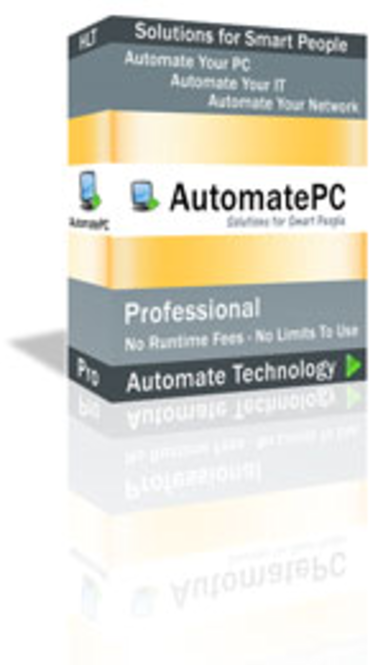 AutomatePC Professional with 1 year Support Agreement Screenshot
