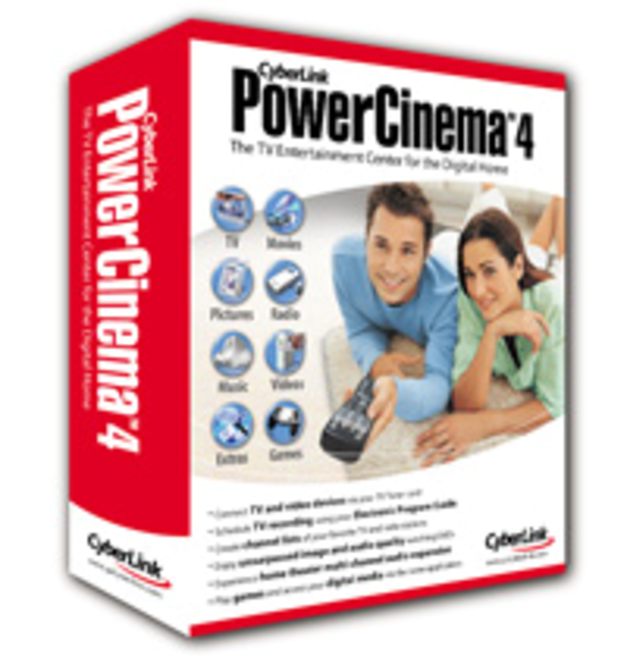 PowerCinema 4 Digital TV Edition (BOX) Screenshot 1
