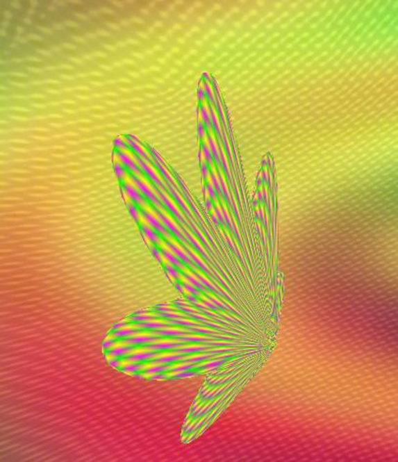 Morphing 3d leaf Screenshot