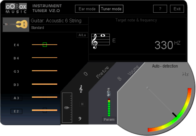 oobox guitar tuner gratuit