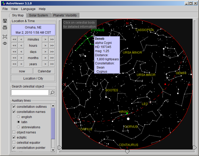 AstroViewer Screenshot