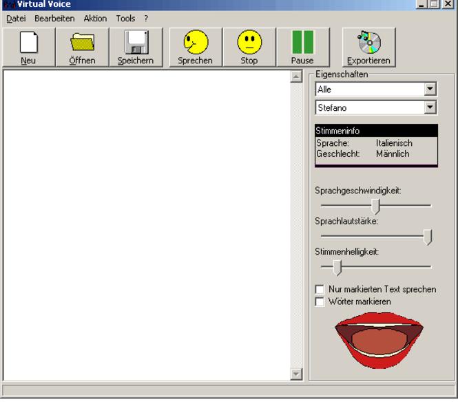 Virtual Voice Firmenlizenz (Mehrplatz) Screenshot