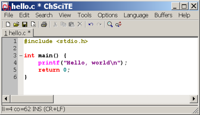ChScite Screenshot