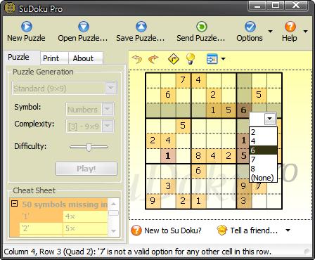 SuDoku Pro Screenshot 1