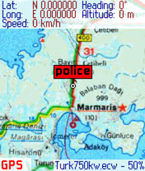 SmartComGPS for Nokia Series 60 Screenshot 2