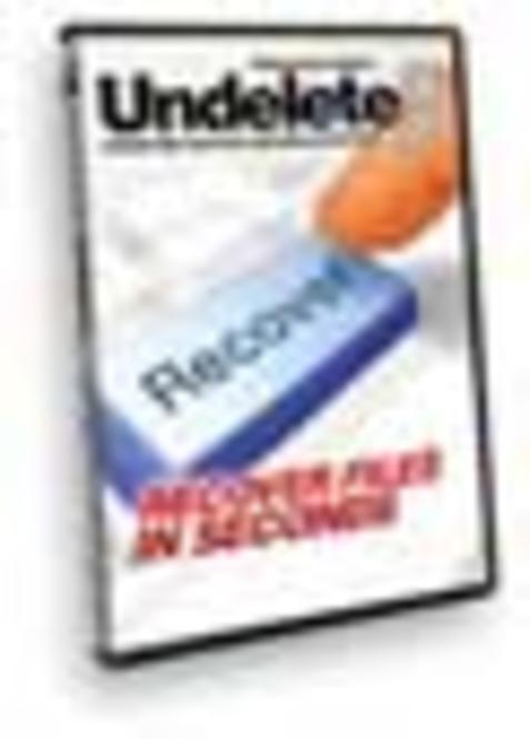 Undelete 5 Professional Edition 1 license Upgrade download (Francais) Screenshot