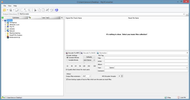 Mp3Converter Screenshot