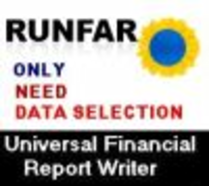 Universal Financial Repot Writer (no time limited licence) Screenshot