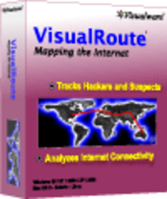 VisualRoute 2010 Advanced Edition Screenshot 1