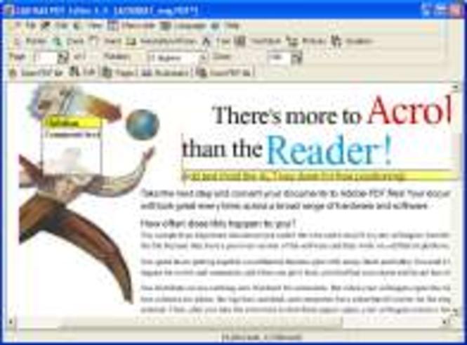 PDF Editor Pro Screenshot
