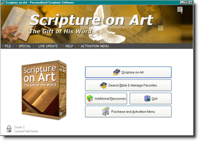 Scripture on Art Screenshot