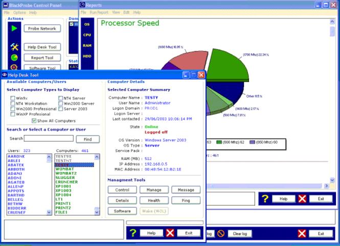 MetaLAN Screenshot 2
