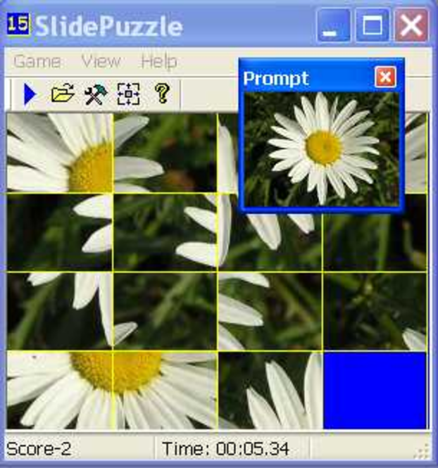 15 Slide Puzzle Screenshot