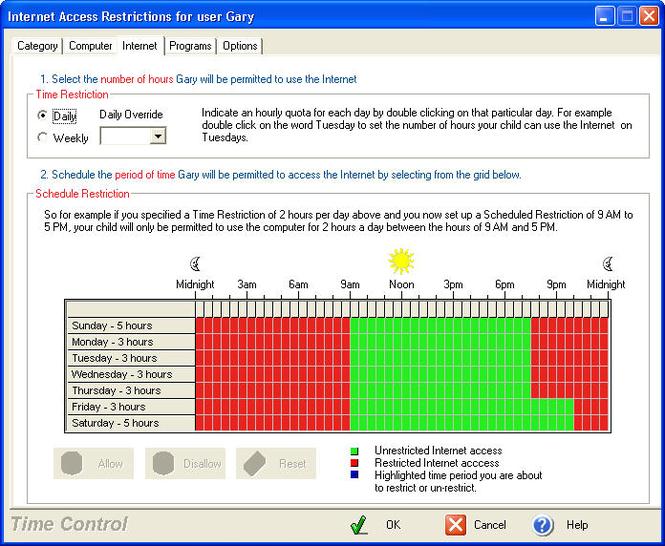 KidsWatch Time Control Standard Screenshot 1