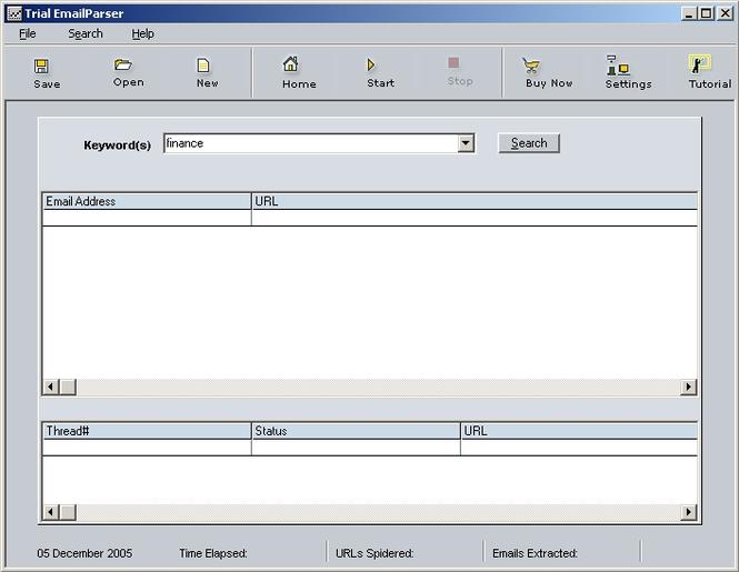 ContentSmartz Email Parser Screenshot