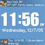 PalmaryClock Wireless Edition for Treo 2