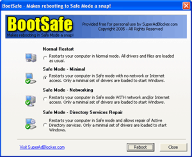 BootSafe Screenshot