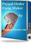 Paypal Order Form Maker $2.00 with Resal 1