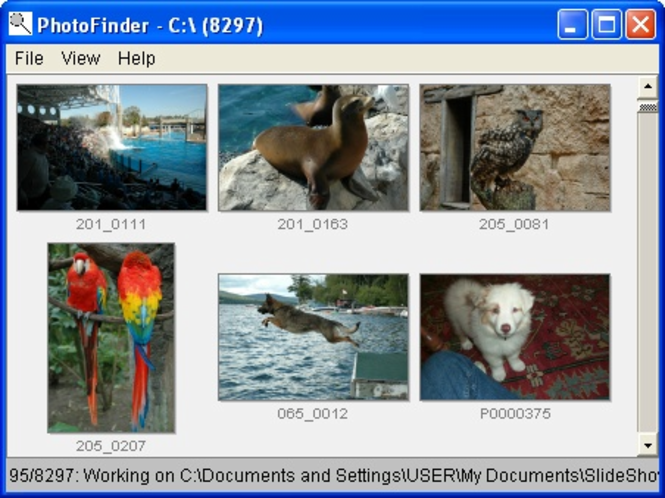 PhotoFinder Screenshot 1