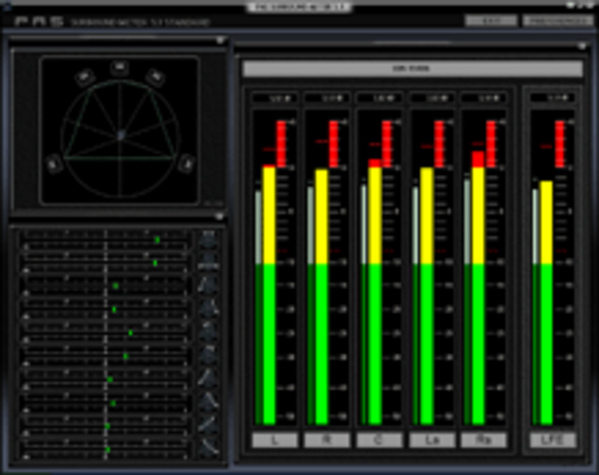Bundle Spectrum Analyzer pro Live 2010 + Surround Meter 3.71 Screenshot