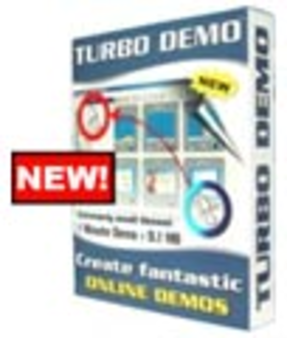 TurboDemo Pro v.7.0 - Upgrade Screenshot