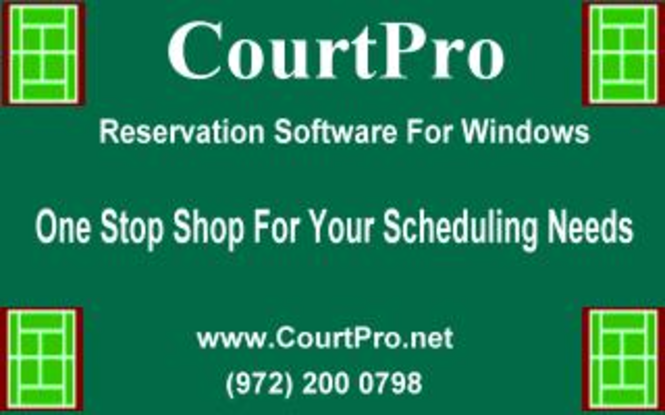 CourtPro Premium (Stand Alone) Screenshot