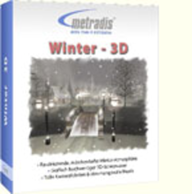 3D-Winter Screensaver Screenshot