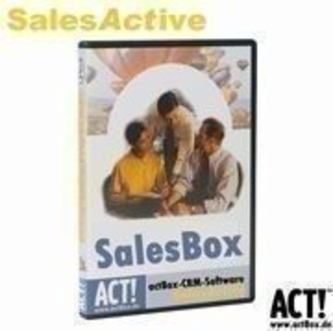 SalesBox for ACT! 8 (5-User) Screenshot
