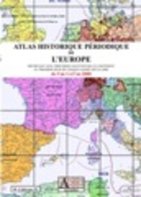 Atlas historique périodique de l'Europe Expert Screenshot