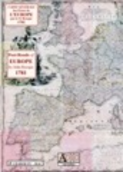 Post-Roads of Europe 1781 by John Rocque Screenshot 1