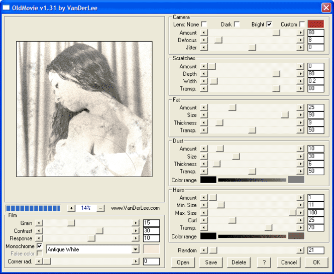 OldMovie Screenshot