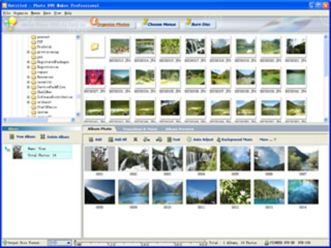ANVSOFT 3GP Photo Slideshow Screenshot
