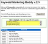 Keyword Marketing Buddy 1
