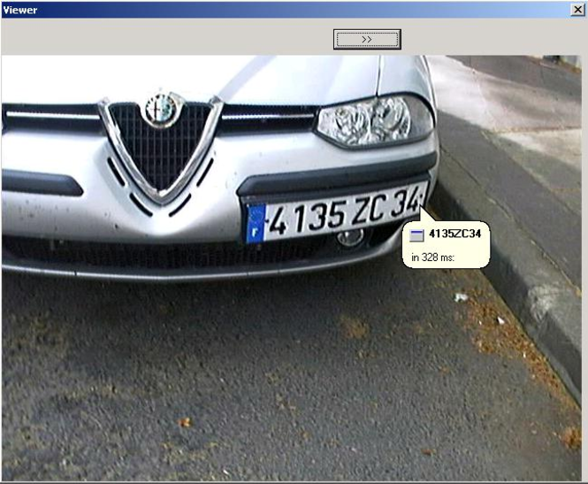 ANPR Screenshot