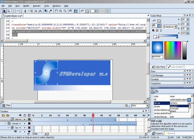 SVGDeveloper Screenshot 1