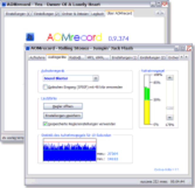 AOMrecord Screenshot