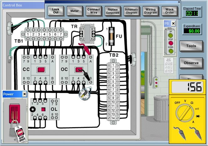 Electrical Motor Control Circuits Screenshot