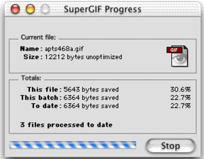 SuperGIF for Macintosh Screenshot 1