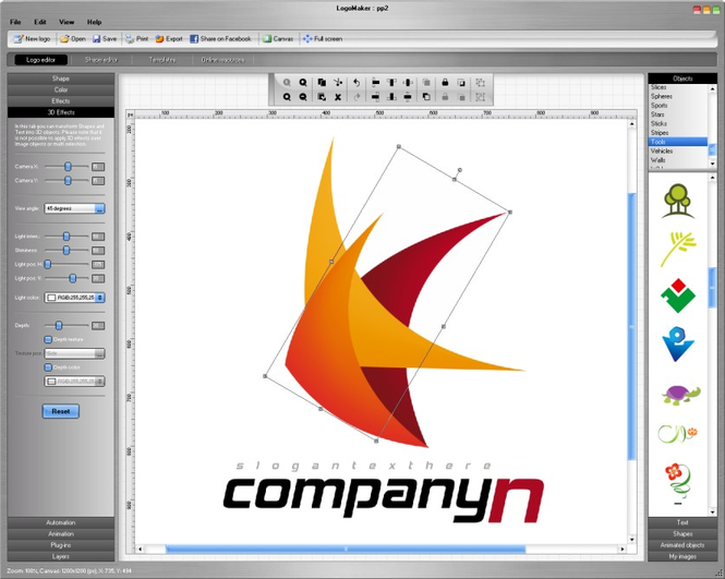 Logo Maker Screenshot 1