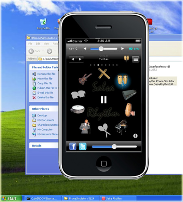 Salsa Rhythm Software Screenshot