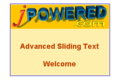 Advanced Sliding Text Software 1