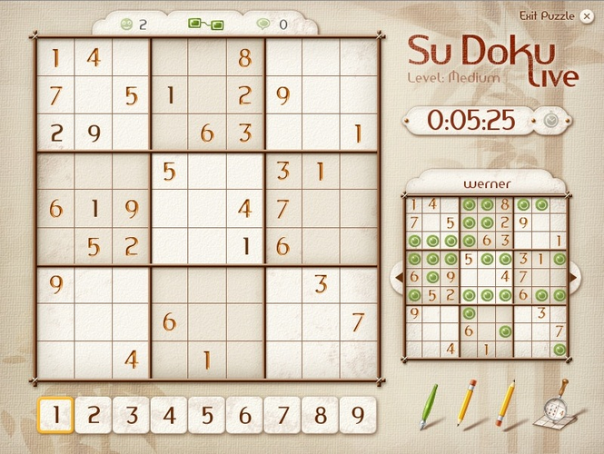 Su Doku Live for Windows Screenshot 2