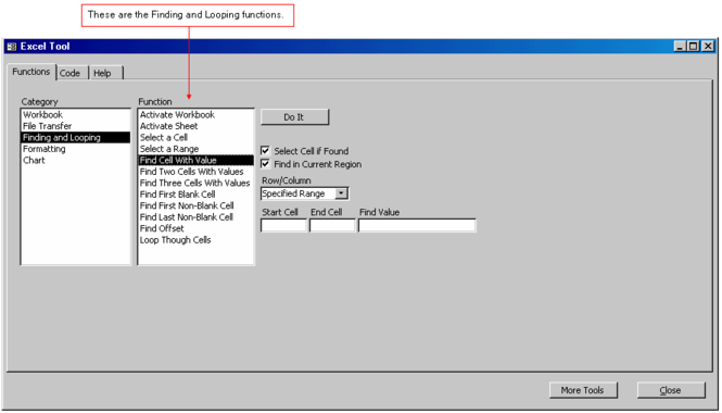 Access-To-Excel Tool Screenshot 1